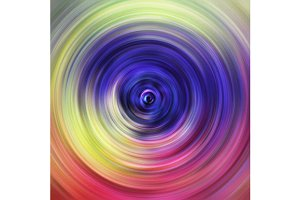 Colorful rainbow whirl background