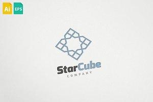 Star Cube Logo