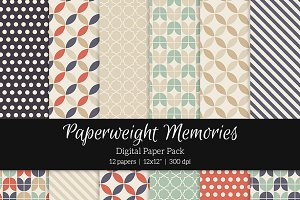 Patterned Paper – Retro Feeling