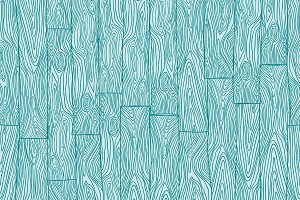 Vector Seamless  Wooden Pattern