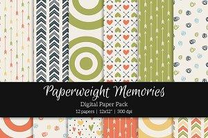 Patterned Paper – Vintage Model