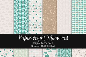 Patterned Paper – Day at the Beach