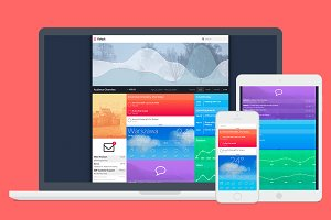 Kokpit HTML Dashboard Template