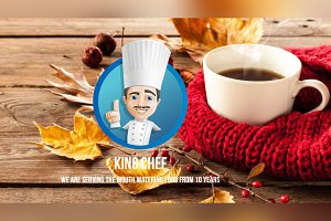 King Chef Restaurant Muse Template