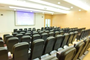 chairs in theatre or conference hall