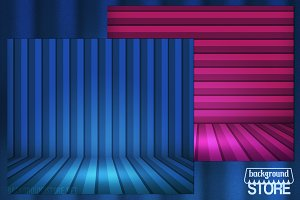 Striped Room Background