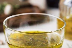Homemade Vinaigrette with Thyme