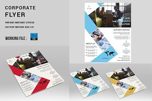 Corporate Flyer Template-V343