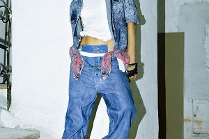 Forever Jeans. Stylish urban look