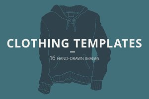 16 Clothing Templates