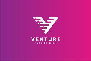 Venture - Letter V Logo