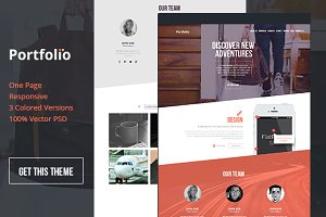 Portfo.lio One Page Template