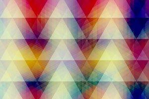 Bright Multicolor Layered Pattern