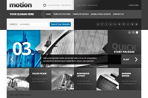 Motion Joomla Template