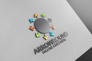 Arrow Round Logo