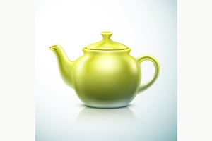 Isolated Teapot
