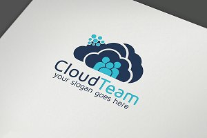 Cloud Team & Solution Logo