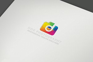 Photo Camera Logo Template
