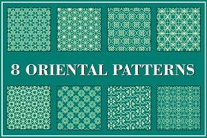 8 Oriental Patterns