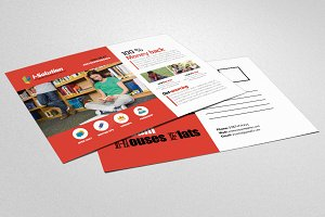 Education PostCard Template