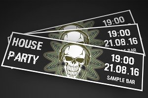 House Party Event Ticket