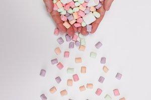 falling marshmallow