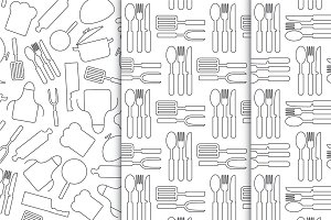 Cooking kitchen patterns