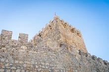 Castle of Tiedra, Route of the castles, Valladolid, Castilla y Leon, Spain