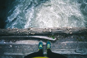 Woman Feet standing