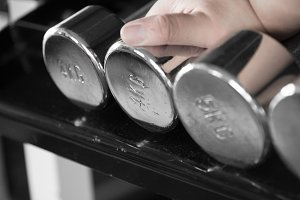 Dumbell for weight training