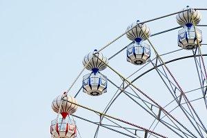 Vintage style of ferris wheel