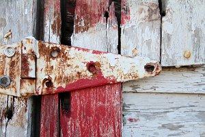 rustic barn hinge