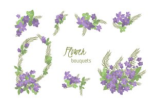 №151 Floral clematis