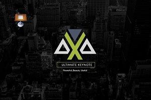 Axa | Keynote Template