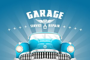 Classic Garage Sign