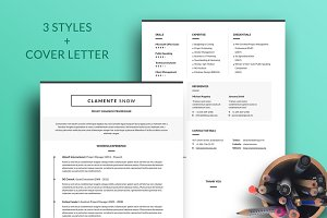 Clamente Resume Template