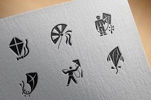 Kite icons