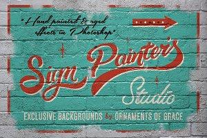 Sign Painter's Studio