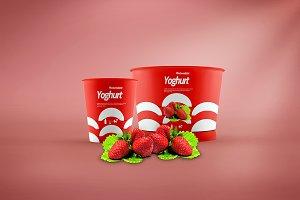 Yoghurt Mock-up 3