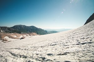 Rocky Mountains Glacier snow