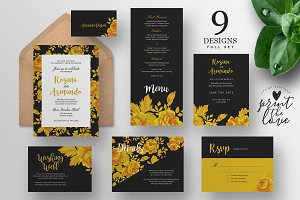 Wedding Invitation Suite - Rosana
