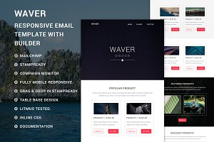 Waver - eCommerce Responsive email
