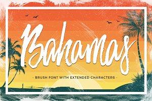 Bahamas Brush Font