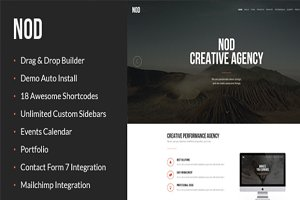 NOD - Business Landing Page HTML