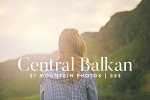 Central Balkan Mountain Photo Bundle