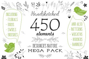 Designer's nature mega pack!
