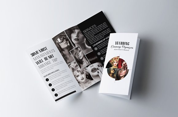 Fashion Trifold Brochure Template in Brochure Templates