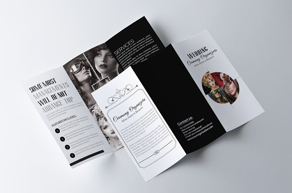 Fashion Trifold Brochure Template in Brochure Templates - product preview 2