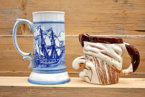 artistic cups