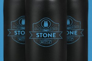 Stone Bottle Mock-Up